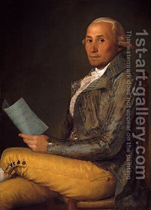 Don Sebastien Martyez y Pez by Goya - Reproduction Oil Painting