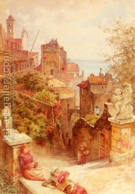 San Remo by Charles Gregory - Reproduction Oil Painting