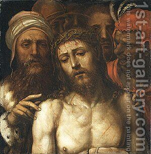 Christ Presented to the People by Il Sodoma (Giovanni Antonio Bazzi) - Reproduction Oil Painting
