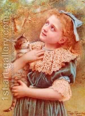 Kitty Spencelayh by Bela Veszelszky - Reproduction Oil Painting