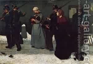 What is Called Vagrancy by Aime Stevens - Reproduction Oil Painting