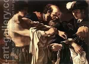 Return Of The Prodigal Son 1619 by Guercino - Reproduction Oil Painting