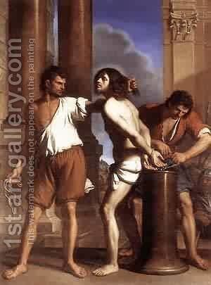 The Entombment Of Christ 1657 by Guercino - Reproduction Oil Painting
