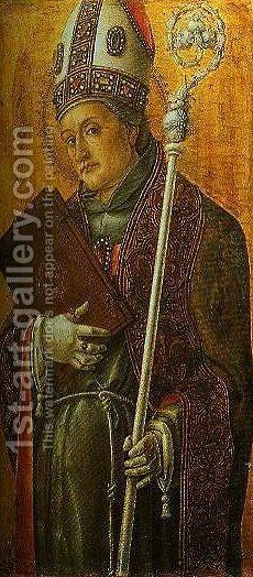 St Louis of Toulouse by Bartolomeo Vivarini - Reproduction Oil Painting