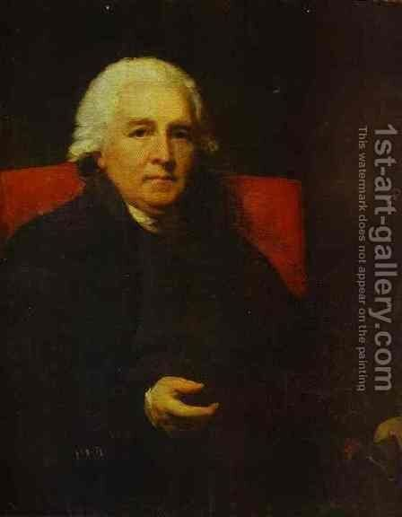 Portrait Of Lucius Obeirne Bishop Of Meath by Sir Henry Raeburn - Reproduction Oil Painting