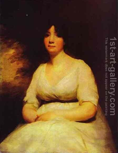 Portrait Of Mrs Kenneth Murchison by Sir Henry Raeburn - Reproduction Oil Painting
