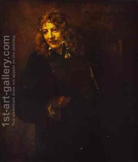 Portrait Of Nicolas Bruyningh 1652 by Harmenszoon van Rijn Rembrandt - Reproduction Oil Painting