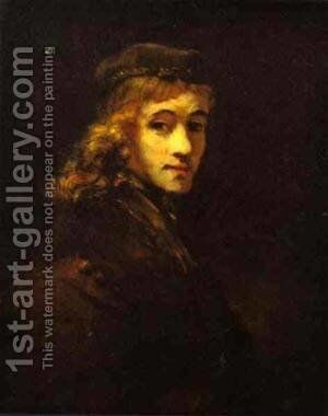 Portrait Of Titus The Artists Son by Harmenszoon van Rijn Rembrandt - Reproduction Oil Painting