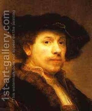 Rembrandt88a by Harmenszoon van Rijn Rembrandt - Reproduction Oil Painting