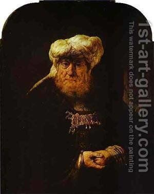 The King Uzziah Stricken With Leprosy 1635 by Harmenszoon van Rijn Rembrandt - Reproduction Oil Painting