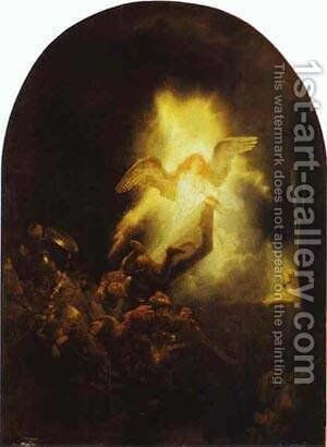The Resurrection Of Christ 1635-39 by Harmenszoon van Rijn Rembrandt - Reproduction Oil Painting