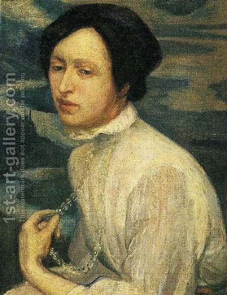 Portrait of Angelina Beloff 1909 2 by Diego Rivera - Reproduction Oil Painting