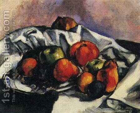 Still Life 1918 by Diego Rivera - Reproduction Oil Painting