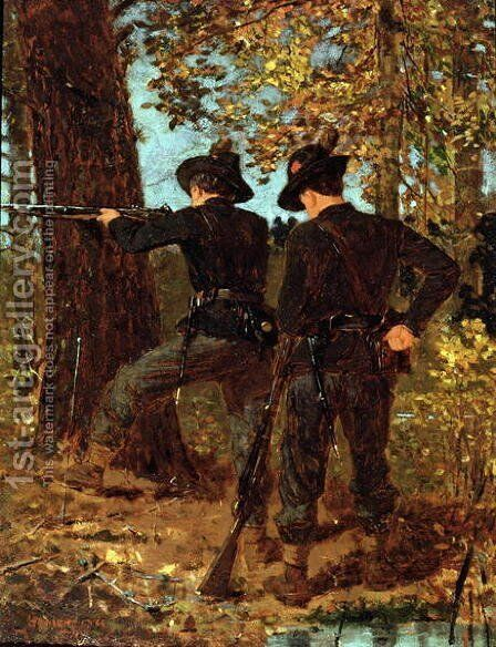 The Sharpshooters by Winslow Homer - Reproduction Oil Painting
