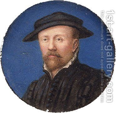 Portrait of a Man Said to Be Arnold Franz by Hans, the Younger Holbein - Reproduction Oil Painting