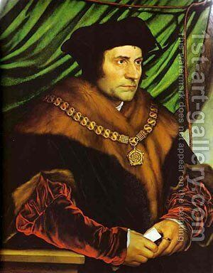 Portrait Of Sir Richard Southwell 1536 by Hans, the Younger Holbein - Reproduction Oil Painting