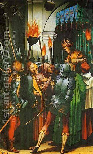 The Passion Of Christ Detail 1 1524 by Hans, the Younger Holbein - Reproduction Oil Painting