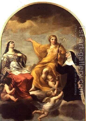 The Three Marys 1633 by Andrea Sacchi - Reproduction Oil Painting