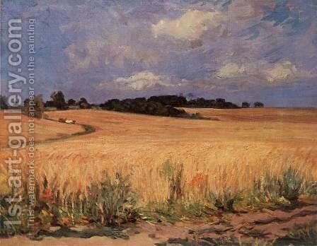 Cornfield 1971 by Imre Amos - Reproduction Oil Painting