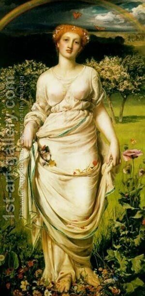 Sandys3 by Anthony Frederick Sandys - Reproduction Oil Painting