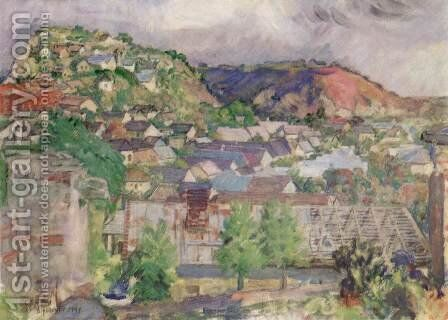 Kakashill 1947 by Istvan Csok - Reproduction Oil Painting