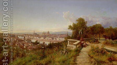 Florence by Andras Marko - Reproduction Oil Painting