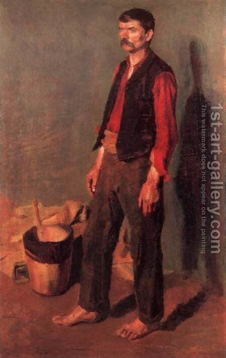 Day Labourer by De Lorme and Ludolf De Jongh Anthonie - Reproduction Oil Painting