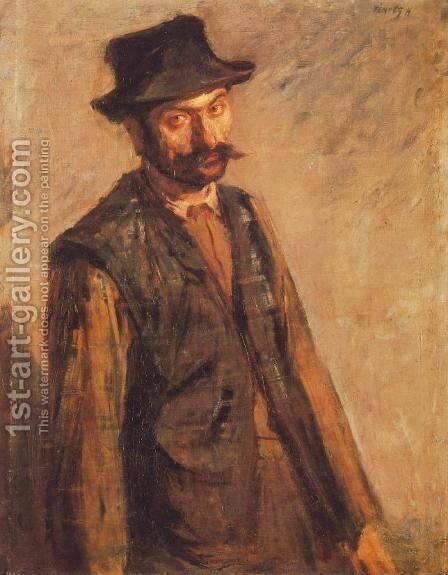 Day Labourer 1900 by De Lorme and Ludolf De Jongh Anthonie - Reproduction Oil Painting