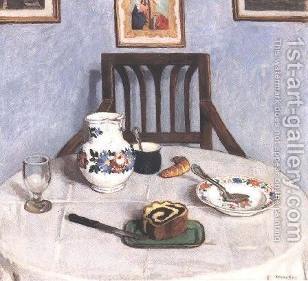 Poppy-seed Cake 1910 by De Lorme and Ludolf De Jongh Anthonie - Reproduction Oil Painting