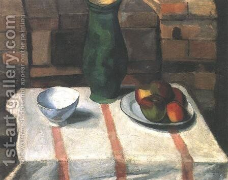 Still Life 1911 by Miksa Roth - Reproduction Oil Painting