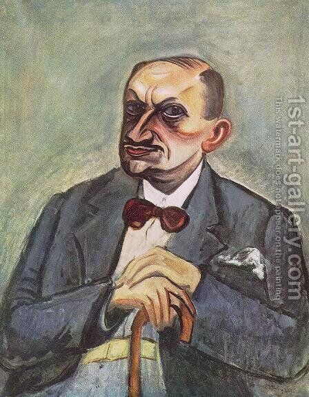 Notary Wetzler 1929 by Bela Onodi - Reproduction Oil Painting