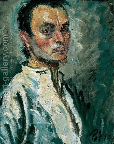 Portrait of a Man 1912 by Bela Onodi - Reproduction Oil Painting