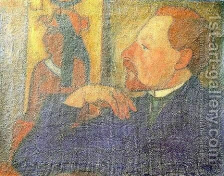 Ferenc Medgyessy 1910s by Arkhip Kuinji - Reproduction Oil Painting