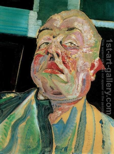 Self portrait c 1925 by Gyula Batthyany - Reproduction Oil Painting