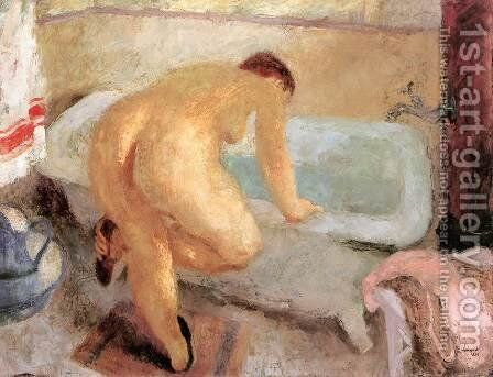Before the Bath 1936 by Istvan Desi-Huber - Reproduction Oil Painting