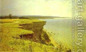 On The Shore Of The Gulf Of Finland Udrias Near Narva 1889 by Ivan Shishkin - Reproduction Oil Painting