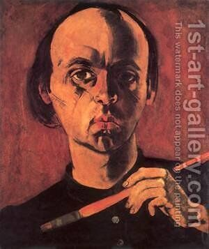 Self-portrait 1933 by Karl Briullov - Reproduction Oil Painting