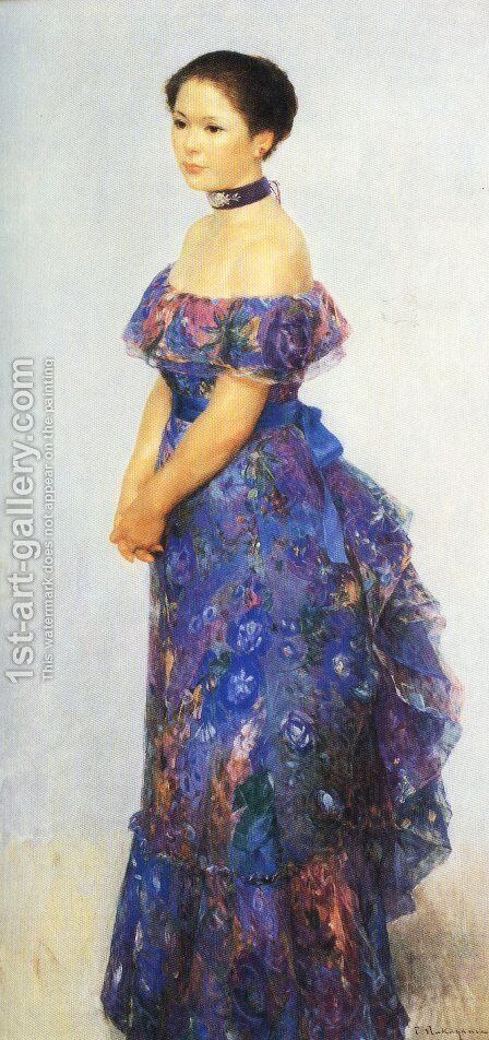 Japanese Picture 043 by Bertalan Por - Reproduction Oil Painting