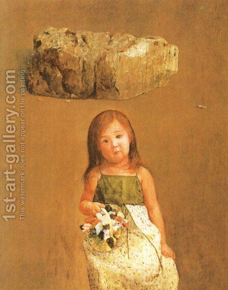 Japanese Picture 063 by Bertalan Por - Reproduction Oil Painting