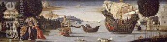 The Beloved of Enalus Sacrificed to Poseidon and Spared 1512 by Bernardino Fungai - Reproduction Oil Painting