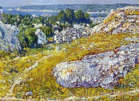 Norman's Woe, Gloucester, Massachusetts by Frederick Childe Hassam - Reproduction Oil Painting