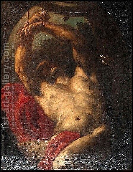 Saint Sebastian 2 by Guido Reni - Reproduction Oil Painting