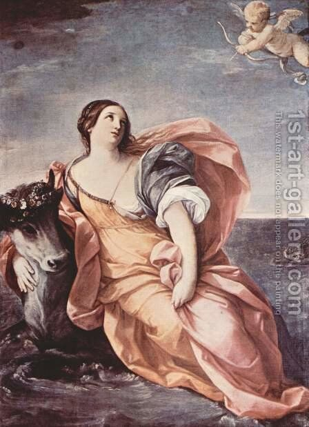 The Rape of Europa by Guido Reni - Reproduction Oil Painting