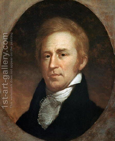 Portrait of William Clark 1807 by Charles Willson Peale - Reproduction Oil Painting