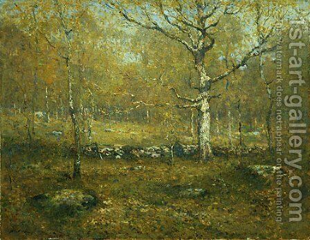 Spring Woods by Henry Ward Ranger - Reproduction Oil Painting