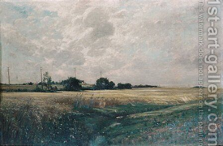 Broad Acres 1887 by Edward B. Gay - Reproduction Oil Painting