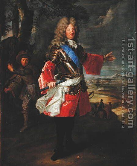 Louis de France by Hyacinthe Rigaud - Reproduction Oil Painting