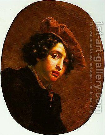 Portrait of a Young Man by Cesare Dandini - Reproduction Oil Painting