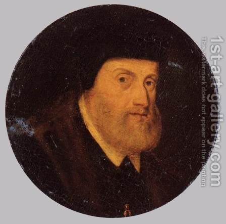 Portrait of Charles V 1550 by Anonymous Artist - Reproduction Oil Painting
