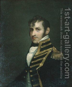 Stephen Decatur 1806 by Anonymous Artist - Reproduction Oil Painting
